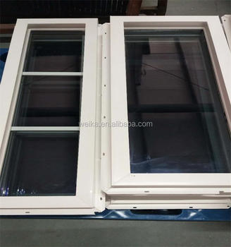 Latest design China supplier fixed window and door