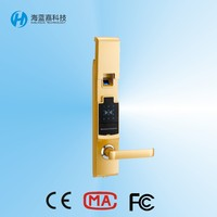 2015 new production fingerprint password keypad door lock