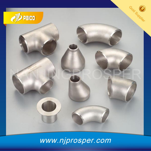 High Pressure ANSI Forged BW High Pressure Stainless Steel Pipe Fittings