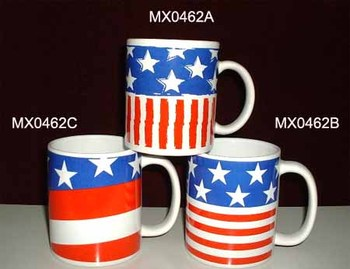Porcelain Mug for USA Independence Day