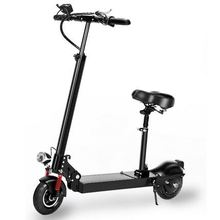 LED electric balance car 10 inch scooter two wheel with seat