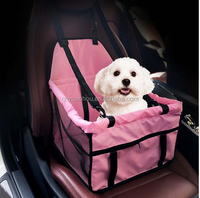 Protector Breathable Waterproof Pet Dog Cat Car Seat Bag Pet carrier bucket basket