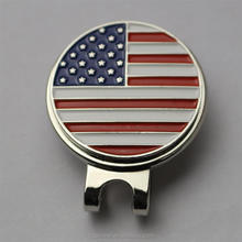 Hot Selling Metal Golf Cap Clips For Golf Gifts
