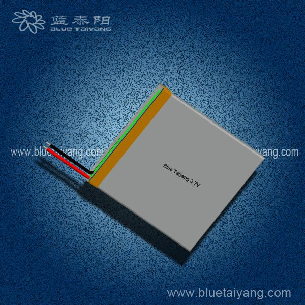 355060 1100mAh 3.7V lithium-ion polymer battery