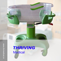 THR-RB012 Plastic Baby Cart with Music System