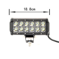 YC019 LED Light Bar 36W LED Off Road Bar Light for SUV ATV UTV