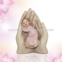 Resin little girl figurine
