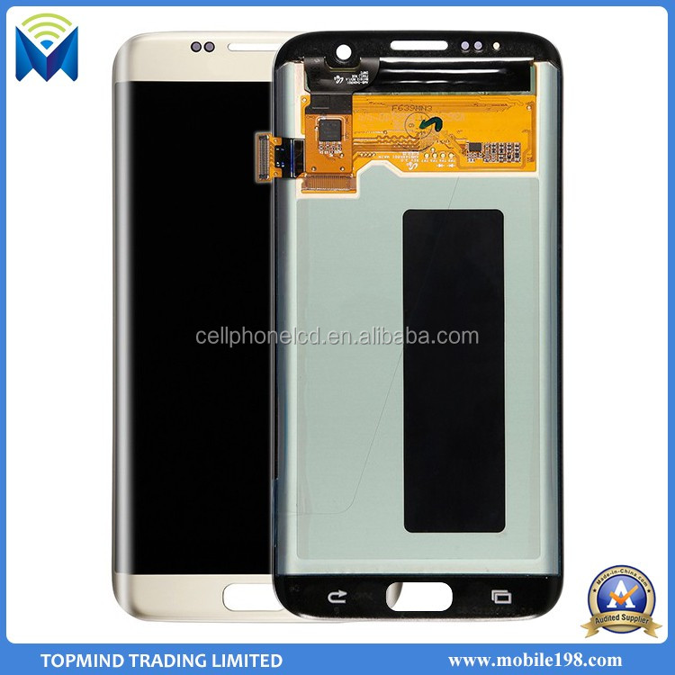 100% Warranty Original LCD for Samsung Galaxy S7 Edge LCD Display with Digitizer Touch Screen
