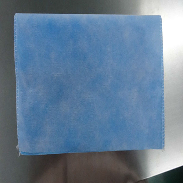 Disposable&waterproof&comportable blue/green PE+PP nonwoven Pillowslip for hotel/house/domestic/surgical use