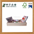 FSC certificated Solid wood storage box for daily items
