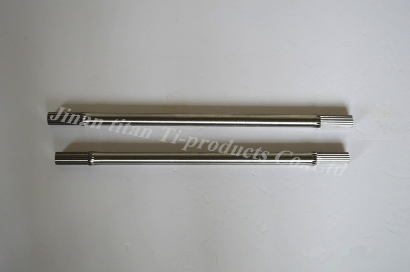 Gr5 titanium half <strong>axle</strong> for <strong>car</strong>