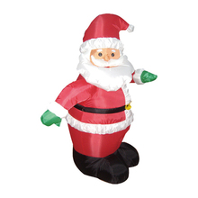 Large inflatable christmas decoration, Dancing inflatable santa