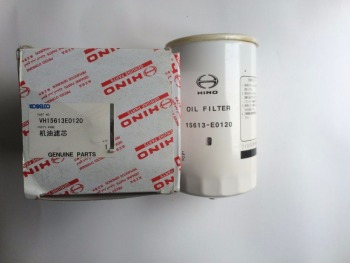 good quality 15613-E0120 for 330-8 excavotor genuine part car oil filter