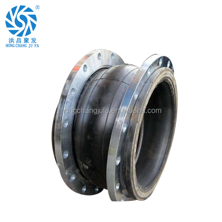 Heat resistancedin/ansi flexible plastic flange epdm rubber isolation pipe joint
