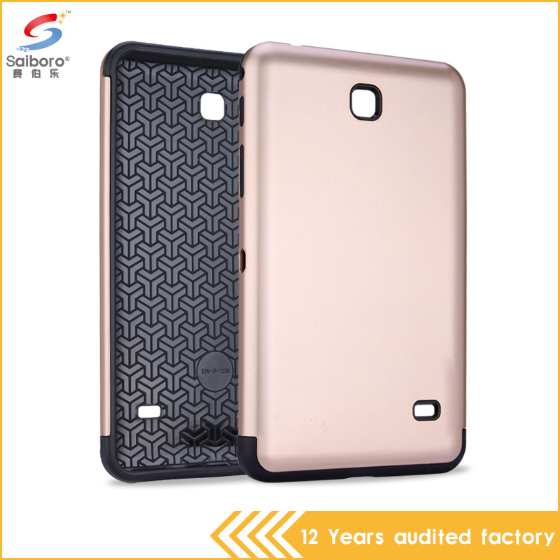 Alibaba China Crash-proof tpu pc tablet case for samsung galaxy tab 4 t230 t231 t235 case