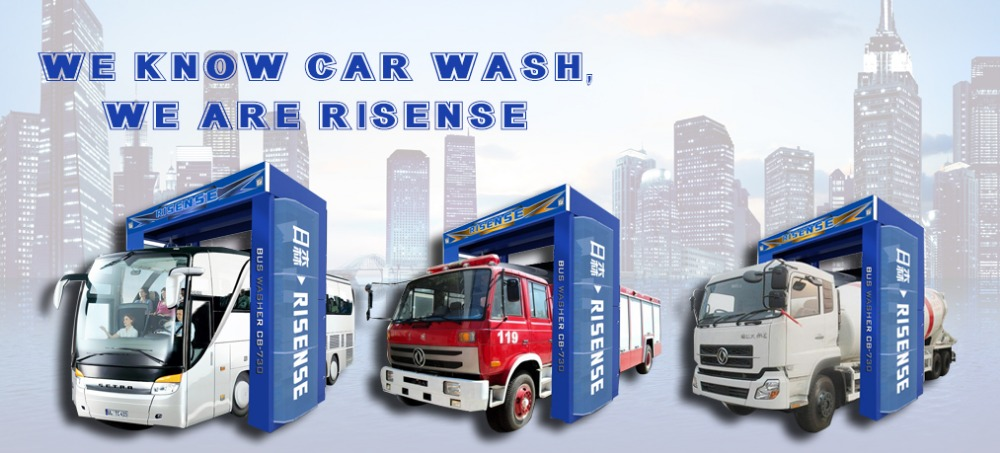 Most Welcome Bus Cleaning Washing Machine System
