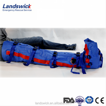 leg injury protector medical device for emergency rescue service