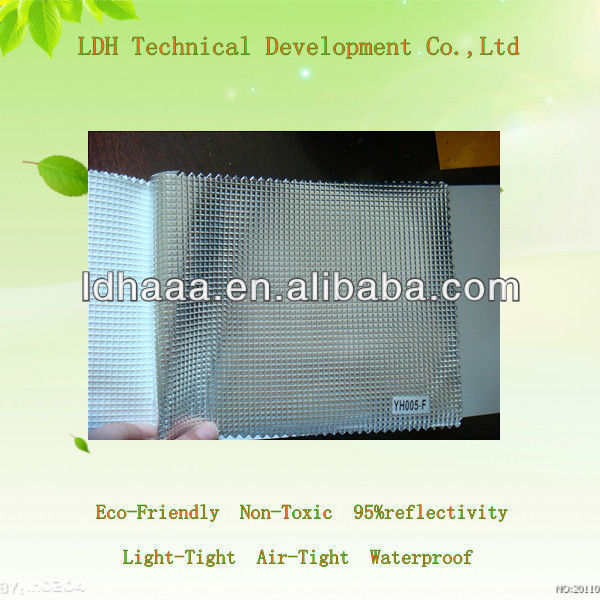 High Reflectivity Eco-friendly Waterproof Mylar fabric grow tent material