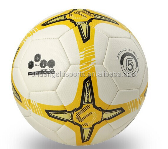 top quality genuine leather soccer ball/football