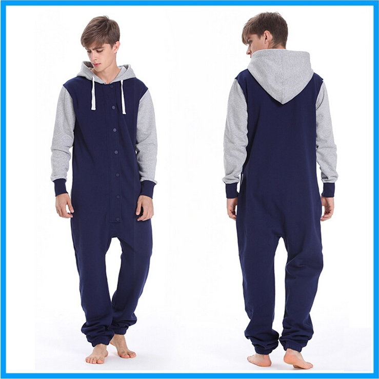 Best cheap unisex adult hooded pajama adult onesie 100 cotton