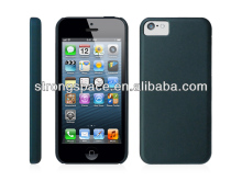 Black elegant hard plastic case for iphone 5c by China supplier