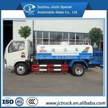 JAC 4x2 rhd off-road water tank truck for sale