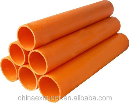 plastic MPP solid wall tube Wire and cable to protect casing production line