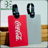 Clear bulk paper hang nylon name plastic luggage tag/baggage tag/pu leather airplane custom soft rubber