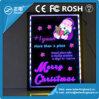 LED restaurant menu boards china market sparkle led writing board electronic