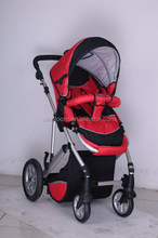 4 wheels aluminum baby stroller with 3 position seat 5 point safety ,en1888 cet, one touch dobble sharker fuction.