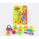 Creative DIY Non-dry Play Dough Set 3D Mud Color Plasticine Modeling Clay for Kids
