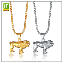 online shop china new gold chain design for men gold silver animal shape pendant necklace