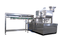 Spout pouch filling and capping machine, Stand up pouch
