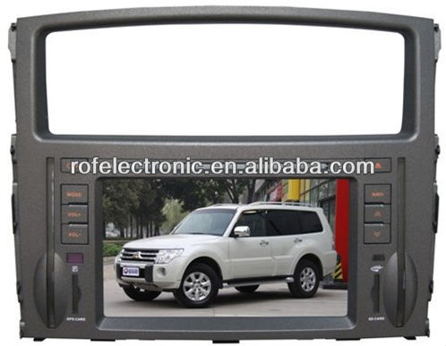 Car DVD Player with GPS/RDS For Mitsubishi Pajero V97 V93