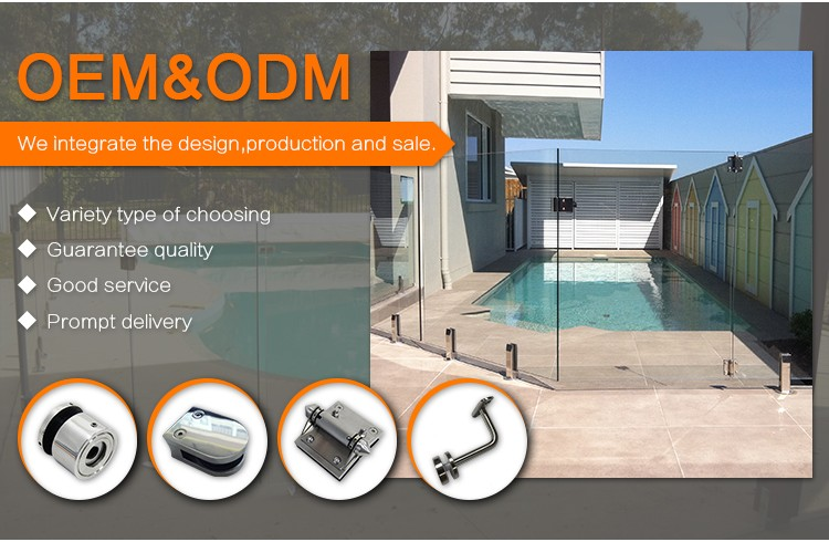 High Quality sliding Glass Stainless Steel Door Handle