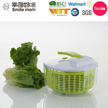 D659 Multifunctional kitchen helper manual new large salad spinner with bowl as seen on tv