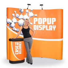 High Quality Cheap&folded pop up display stand For Exhibition