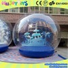 Christmas decorations giant inflatable snow globe