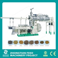Factory Supply Feed Making Machine / Pet Feed Pellet Production Line Price
