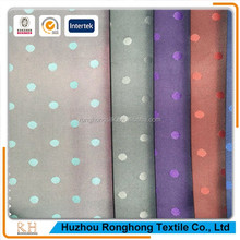 High quality 100% polyester spot jacquard fabric for suit,bag