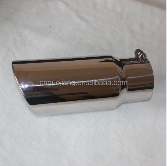 High Quality Mirror polished Truck Stacks exhaust tip