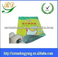 printing food packaging bag with chicken essence