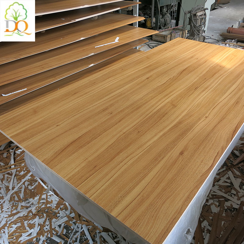 1220*2440mm waterproof colors melamine paper laminated plywood mdf board