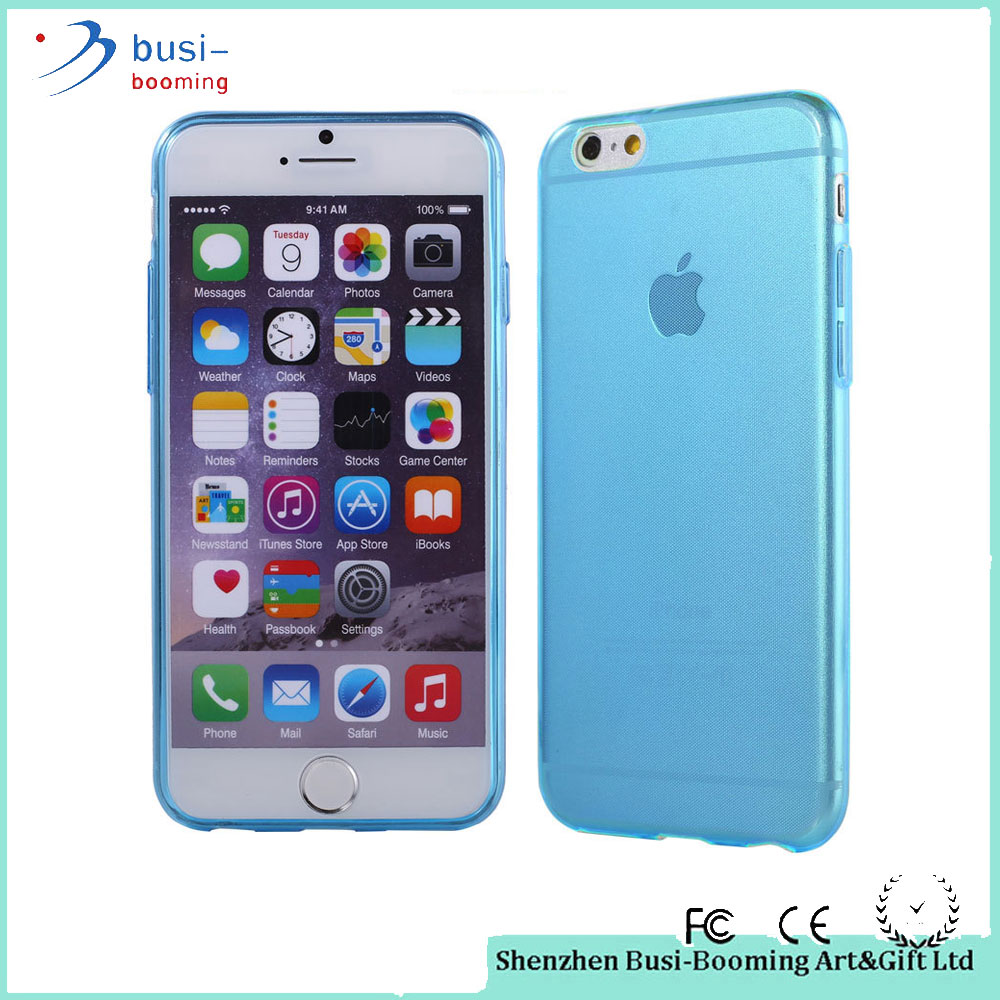 2016 Factory Price Cell Phone Transparent Colorful Back Cover For Iphone 6S Plus Case Cover Bulk Buy From China