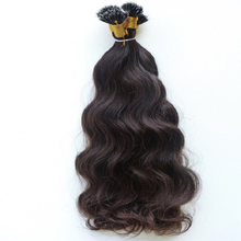 Alibaba virgin cuticle aligned brazilian human hair best quality curly nano ring remy hair extension