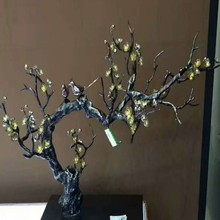 Popular Mascot Gift Tree and Birds Shape Handy Craft Plating Multiple Color Home Decoration Famous and Normally Metal Craft