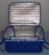 Insulated water bottle cooler bag