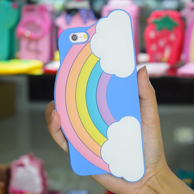Custom Gel Silicone 3D Cartoon Phone Cases Mobile Phone Case Skin Maker For All Size For Iphone 6