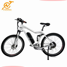 cheap 500w city e-bike/ebike/electric bicycle with LCD display and front suspension fork