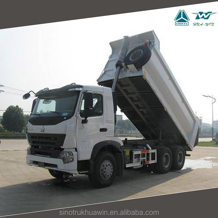 SINOTRUK HOWO A7 LHD 10 Tires Volume Sand Tipper Truck